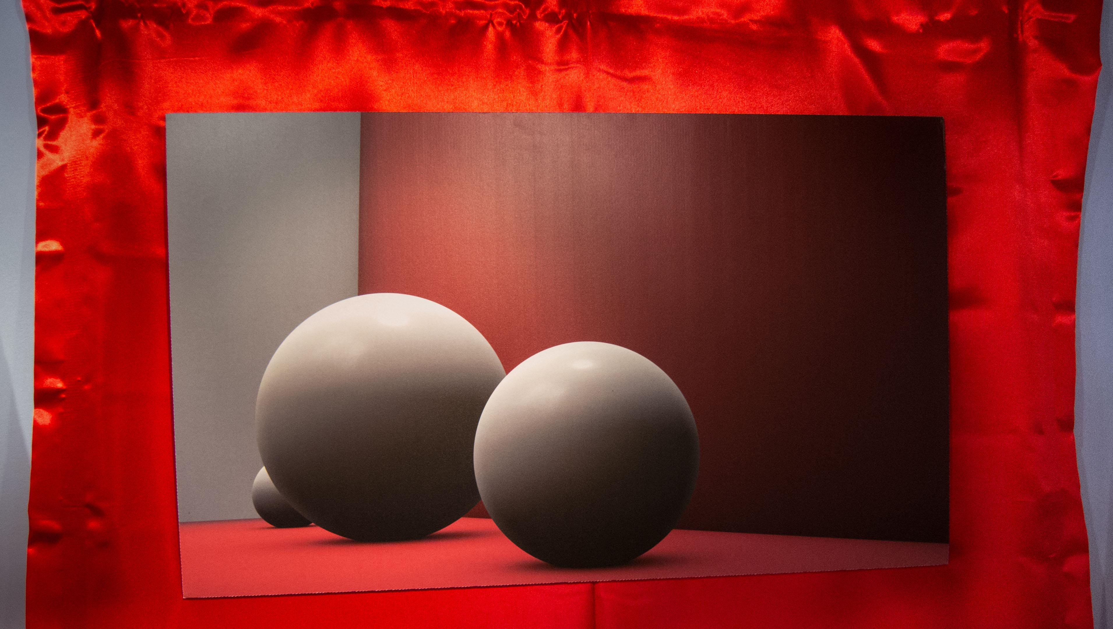 Dettaglio stampa digitale  installazione Mille Fotografie di Pechino by DiMMD