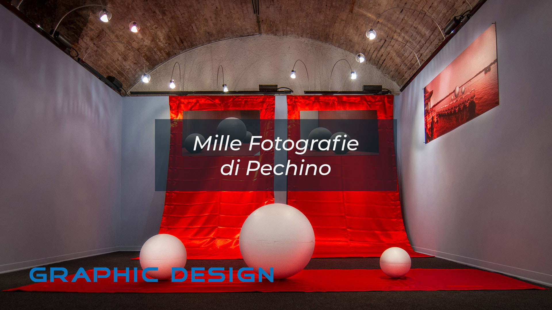 Graphic Design Mille Fotografie di Pechino by DiMMD