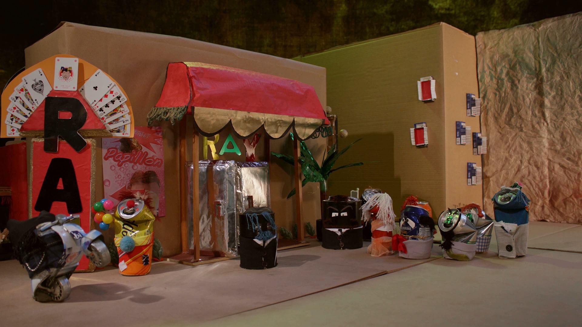 Tin Story by DiMMD  design della scenografia di un esterno